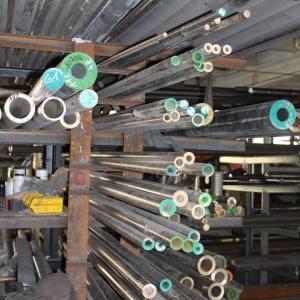pręty aluminiowe i metalowe